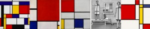 Mondrian Art Header